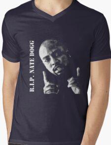 R.I.P. Nate Dogg 1969-2011 Mens V-Neck T-Shirt