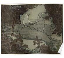Maurice de Becque Livre de la jungle, p140 Poster
