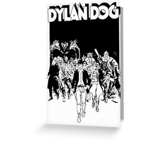 Dylan Dog Greeting Card