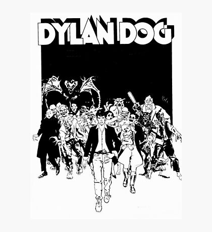 Dylan Dog Photographic Print