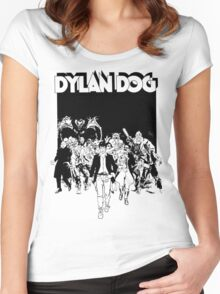 Dylan Dog Women's Fitted Scoop T-Shirt
