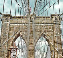 The Brooklyn Bridge by kennebrew