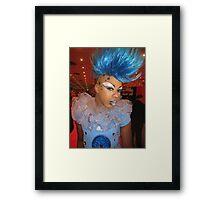 Fabulous blue Framed Print