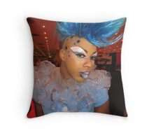 Fabulous blue Throw Pillow