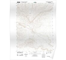 USGS Topo Map Oregon Black Rock Springs 20110818 TM Poster