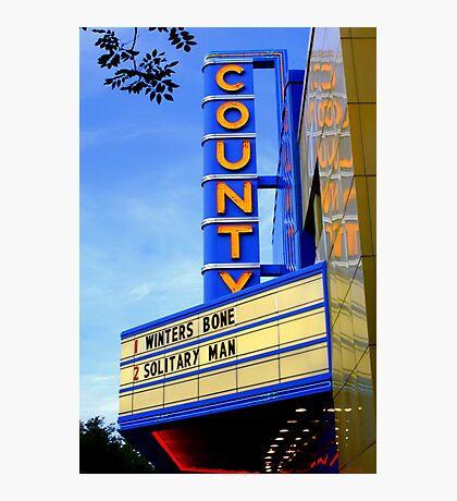 Movie Theater Photographic Print