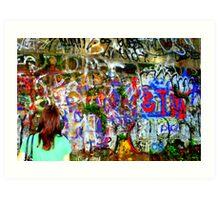 Graffeti Art Print