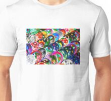 Colourful Mexican Pottery in Playa del Carmen, south of Cancun Unisex T-Shirt