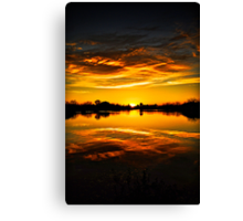 My View  Canvas Print