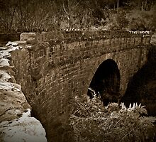Deep Creek Stone Arch Bridge by Barb Leopold