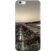 Gabarus Boardwalk, Cape Breton Island, Canada iPhone Case/Skin