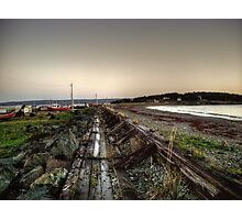 Gabarus Boardwalk, Cape Breton Island, Canada Photographic Print