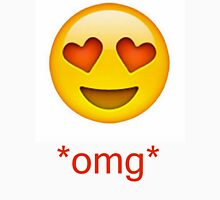 love heart eyes emoji  T-Shirt