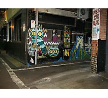 Owl Street Art Melbourne Photographic Print