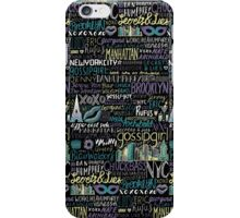 XOXO GOSSIP GIRL iPhone Case/Skin