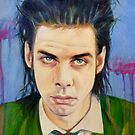 Nick Cave by kathy archbold