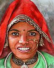 Woman from North-India by Nicole Zeug
