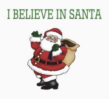 I believe in santa Baby Tee