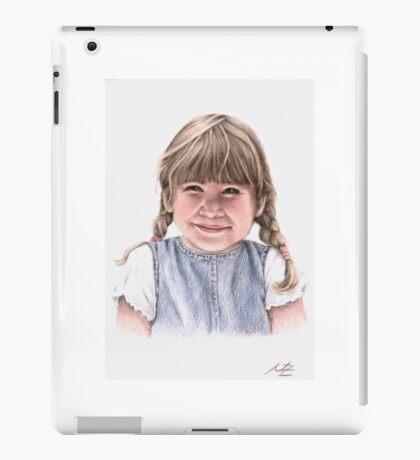 Sweet Little Girl Portrait iPad Case/Skin