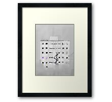 Old City Building Framed Print