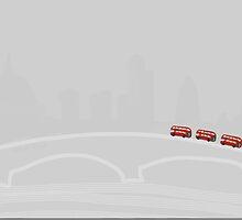 Three Buses by Nigel Silcock