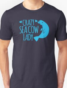 Crazy Sea Cow Lady T-Shirt