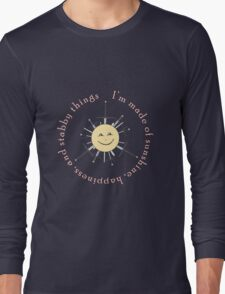 Shiny stabby happiness Long Sleeve T-Shirt