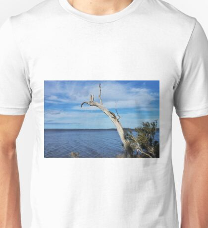 Tree over water Unisex T-Shirt