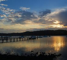 Gosford Sunset #2 by AmyBonnici