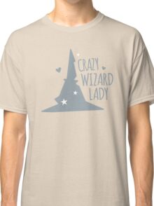 Crazy Wizard Lady Classic T-Shirt