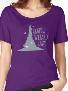 Crazy Wizard Lady Women's Relaxed Fit T-Shirt