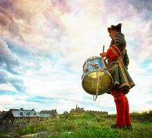 Drummer at the Fortress of Louisbourg by Shawna Mac
