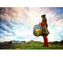Drummer at the Fortress of Louisbourg Photographic Print