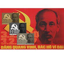 Uncle Ho Photographic Print