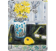 flowers and fabric 4 iPad Case/Skin