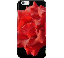 Rosy Red Rose iPhone Case/Skin