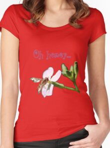 Oh honey Women's Fitted Scoop T-Shirt
