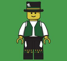 Lego Minifig - Morris Dancer by benthos
