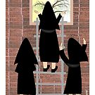 &quot;The Outside World&quot;-Cloistered Nuns by gailg1957