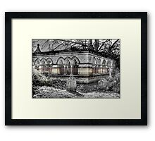 The Mausoleum Framed Print