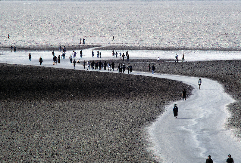 Walking on Badwater by BodieBailey
