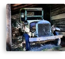 The Old Truck Canvas Print