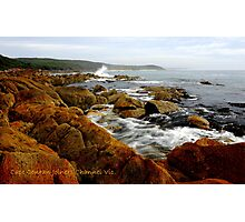 """"""" Cape Conran Joiners Channel Vic. Photographic Print"""
