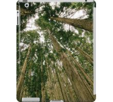 Woods Forest Trees photo iPad Case/Skin