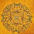 byzantine golden mosaic by neil harrison