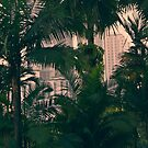 Kuala Lumpur City Skyline Through the Trees by Jason Forster