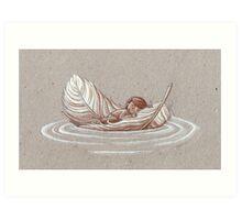Soft Journey Art Print