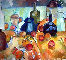 Regardez Cezanne! 1 by Nella Khanis