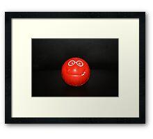 My Big Red Nose Framed Print