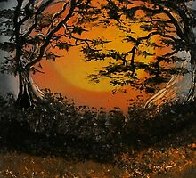 Autumn Moon Madness by linmarie